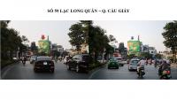 Pano quảng cáo tại 59 Lạc Long Quân, Cầu Giấy, Hà Nội
