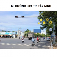 Pano quảng cáo tại số 66 đường Ba Mươi Tháng Tư, TP.Tây Ninh