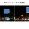Pano quảng cáo tại số 96 Nguyễn Tất Thành, Quận 4, TPHCM