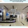 Digital Poster trên băng chuyền hành lý ga quốc nội sân bay Tân Sơn Nhất