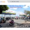 Biển quảng cáo tại Bến phà An Bình, Vĩnh Long
