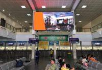 Màn hình LED quảng cáo tại Bến xe Giáp Bát, Hà Nội
