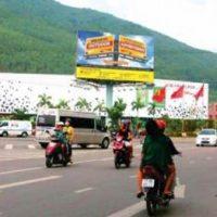 Billboard quảng cáo tại bến xe khách Bình Định, tp Quy Nhơn, Bình Định