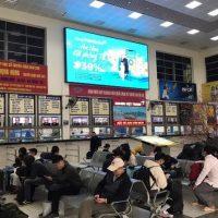 Màn hình LED quảng cáo tại Bến xe Mỹ Đình, Hà Nội