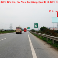 Billboard quảng cáo tại Cao tốc Hà Nội, Bắc Giang, Tiên Du, Bắc Ninh