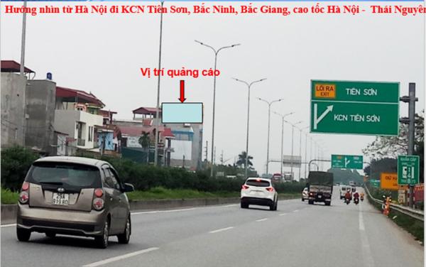 Pano tại Cao tốc Hà Nội – Bắc Giang, KCN Tiên Sơn, Bắc Ninh