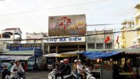Biển quảng cáo Chợ Bà Điểm, Quận Hóc Môn, TPHCM