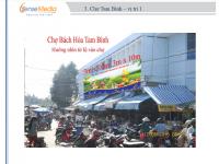 Biển quảng cáo Chợ Bách Hóa - Tam Bình, Vĩnh Long
