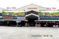 Quảng cáo biển chợ Cái Dầu A, An Giang
