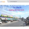 Biển quảng cáo Chợ Giồng Ké, Vĩnh Long