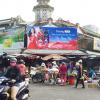 Biển quảng cáo Chợ Hòa Bình, Quận 5, TPHCM