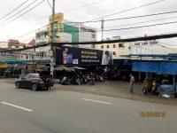 Biển quảng cáo Chợ Linh Xuân, Quốc lộ 1K, Quận Thủ Đức, TPHCM