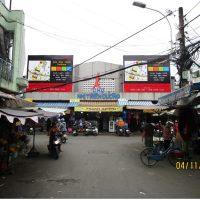 Biển quảng cáo Chợ Nhị Thiên Đường, Hoàng Minh Đạo, Quận 8, TPHCM