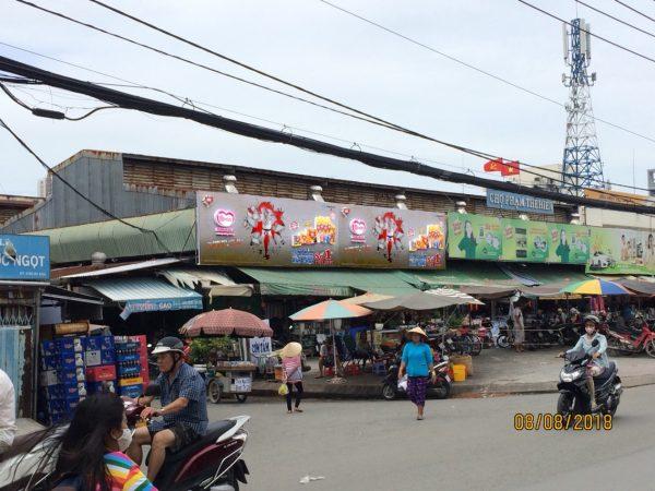 Biển quảng cáo Chợ Phạm Thế Hiển, Quận 8, TPHCM