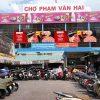 Biển quảng cáo Chợ Phạm Văn Hai, Quận Tân Bình, TPHCM