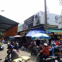 Biển quảng cáo Chợ Rạch Ông, Nguyễn Thị Tần, Quận 8, TPHCM