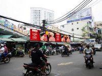 Biển quảng cáo Chợ Thái Bình, Cống Quỳnh, Quận 1, TPHCM