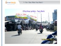 Biển quảng cáo Chợ Thực phẩm - Tam Bình, Vĩnh Long