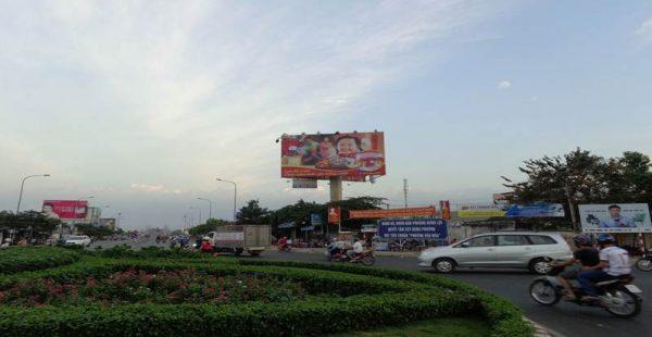Billboard quảng cáo tại đường 30/3 cắt Nguyễn Văn Linh, Cần Thơ