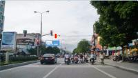 Pano quảng cáo trên đường Trần Phú, TP.Thanh Hóa
