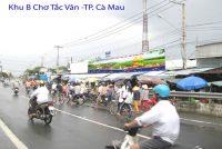 Biển quảng cáo Khu B Chợ Tắc Vân, Cà Mau
