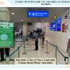 Màn hình LED khu vực Scan, phòng chờ ga đi quốc nội sân bay Tân Sơn Nhất