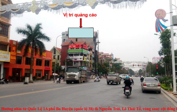 Pano tại Ngã 4 Nguyễn Trãi, Nguyễn Quyền, Bắc Ninh