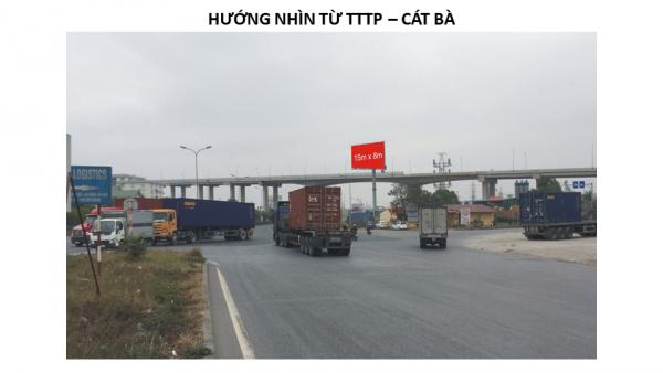 Billboard quảng cáo tại Ngã ba đường 356 - KCN Đình Vũ, Hải Phòng