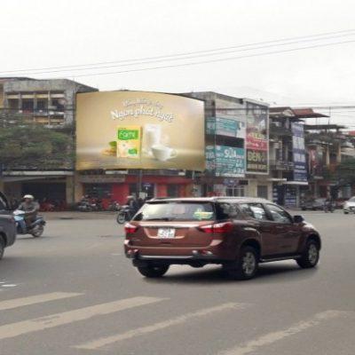 Pano quảng cáo tại ngã ba Gia Sàng, Thái Nguyên