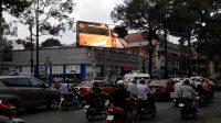 Màn hình LED tại Giao lộ Nguyễn Tri Phương - Hùng Vương, Quận 5, TPHCM