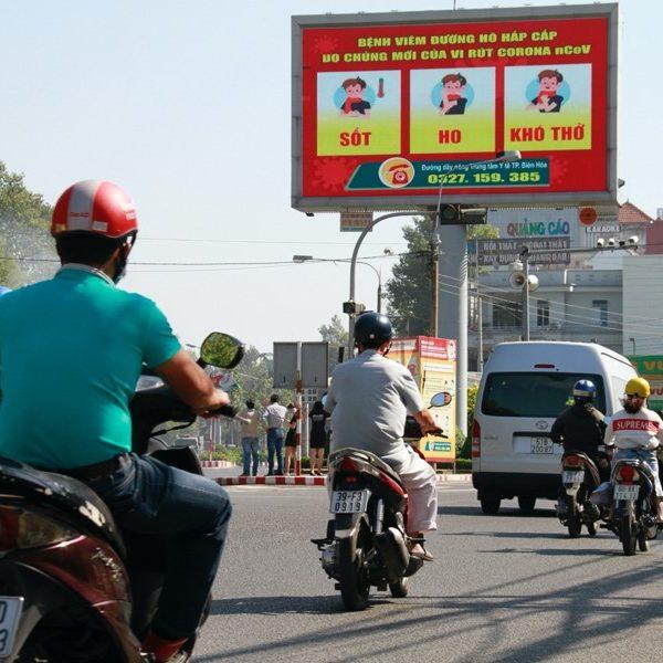 Màn hình LED tại đường Nguyễn Ái Quốc, TP.Biên Hòa, Đồng Nai