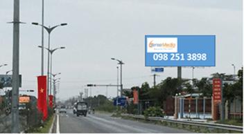 Billboard quảng cáo tại Nút IC4 – Đường Dẫn Cầu Cần Thơ