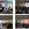 Màn hình LED tại Phòng chờ ga đi T1 (Sảnh A,B,D), sân bay Nội Bài, Hà Nội