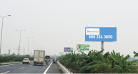 Billboard quảng cáo tại QL1A, Liên Bão, Tiên Du, Bắc Ninh
