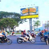Billboard tại quảng trường trung tâm Quy Nhơn, Bình Định