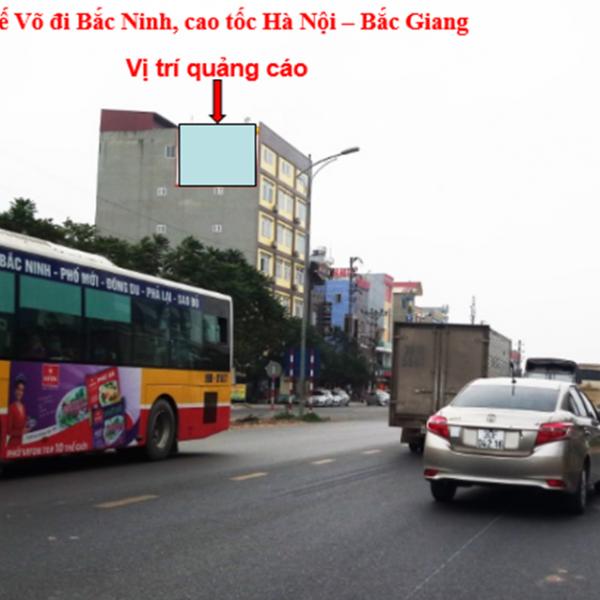 Pano tại Quốc lộ 18, KCN Quế Võ, Vân Dương, Bắc Ninh