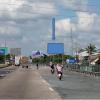 Billboard quảng cáo trên Quốc lộ 1A, Ấp Thống, Cái Bè, Tiền Giang