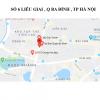 Pano quảng cáo tại số 6 Liễu Giai, Ba Đình, Hà Nội