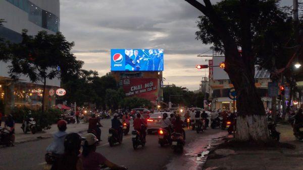 Màn hình LED quảng cáo tại Vòng xoay ngã 6 quận Hải Châu, TP.Đà Nẵng