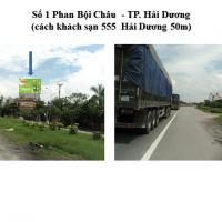 Pano quảng cáo tại số 1 Phan Bội Châu, Hải Dương