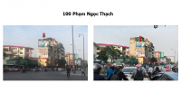 Pano quảng cáo tại 100 Phạm Ngọc Thạch, Hà Nội