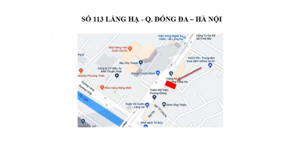 Pano quảng cáo tại Số 113 Láng Hạ, Đống Đa, Hà Nội