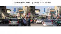 Pano quảng cáo tại số 228 Nguyễn Trãi, Thanh Xuân, Hà Nội