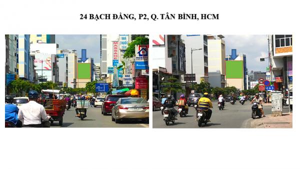 Pano quảng cáo tại 24 Bạch Đằng, Quận Tân Bình, TPHCM