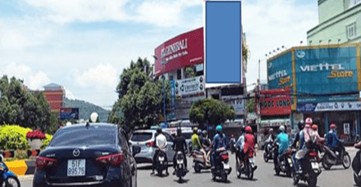 Pano quảng cáo tại số 349 Trương Công Định, TP.Vũng Tàu