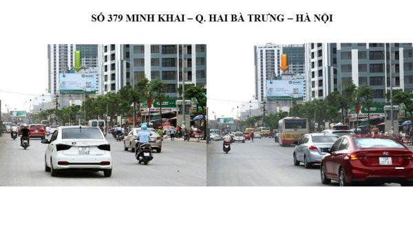 Pano quảng cáo tại 379 Minh Khai, Hai Bà Trưng, Hà Nội