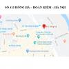 Pano quảng cáo tại 413 Hồng Hà, Hoàn Kiếm, Hà Nội