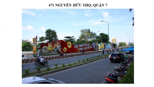 Pano quảng cáo tại 471 Nguyễn Hữu Thọ, Quận 7, TPHCM