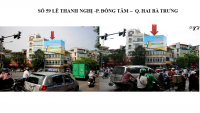 Pano tại 59 Lê Thanh Nghị, Đồng Tâm, Hai Bà Trưng, Hà Nội
