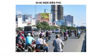 Pano quảng cáo tại 63-65 Điện Biên Phủ, Bình Thạnh, TPHCM